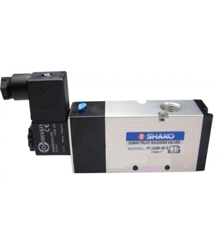 شیر برقی SHAKO مدل PU322-04S