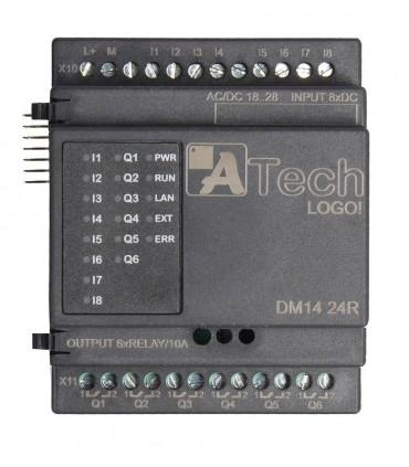 ماژول ورودی/خروجی DM14 230R لوگو 8 ریلی ایرانی