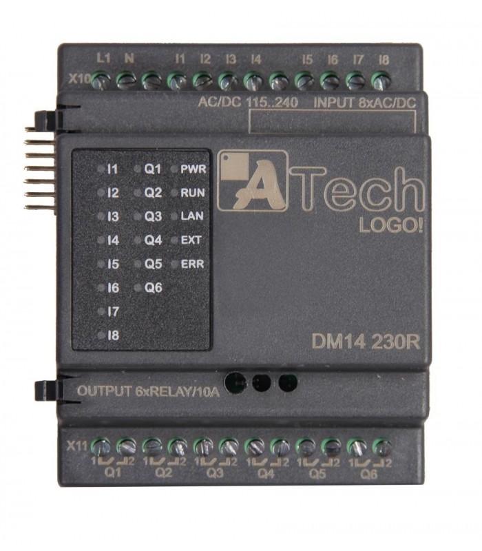 ماژول ورودی/خروجی DM14 24R لوگو 8 ریلی ایرانی