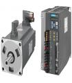 سرو زیمنس ورودی پروفینت دار V90-400W-3000RPM(ترمزدار)