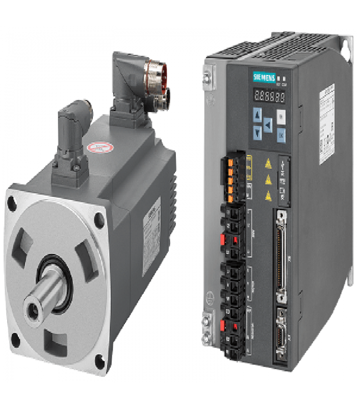سرو زیمنس ورودی پروفینت دار V90-1000W-2000RPM(بدون ترمز)