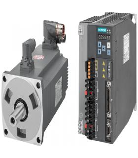 سرو زیمنس با ورودی پالس V90-1750W-2000RPM(ترمزدار)