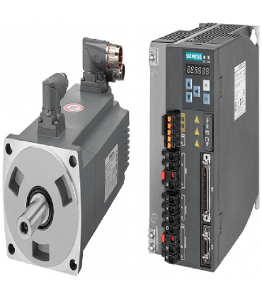 سرو زیمنس با ورودی پالس V90-3500W-2000RPM(بدون ترمز)