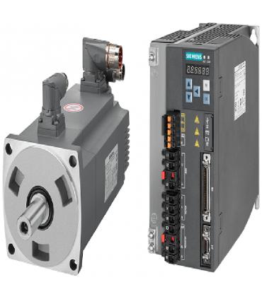 سرو زیمنس با ورودی پالس V90-7000W-2000RPM(ترمزدار)