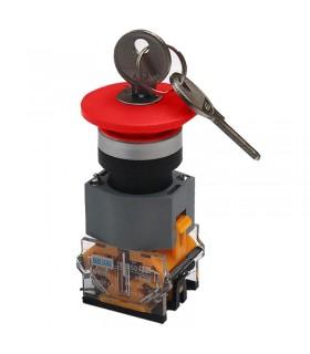 امرجنسی قارچی قفل شو کلید دار پارس فانال PFP50-22D-11ZK