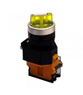 کلید یک طرفه چراغ دار تک کنتاکت پارس فانال PFP50-22D-10XD