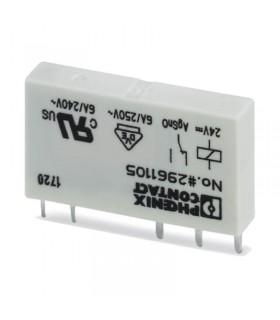 رله تک 24DC بدون پایه REL-MR- 24DC/21