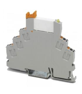 رله PLC تک کنتاکت 24DC پایه فشاری (6 آمپر) RIF-0-RPT-24DC/21