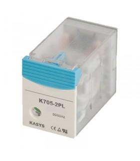 رله شیشه ای کاکن K705-2PL-48VDC