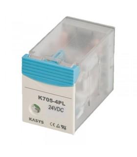رله شیشه ای کاکن K705-4PL-12VDC