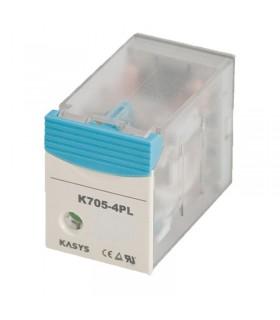 رله شیشه ای کاکن K705-4PL-110VAC