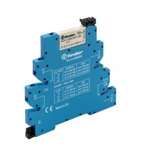 رله PLC فیندر 24V AC/DC تک کنتاکت 39.11.0.024