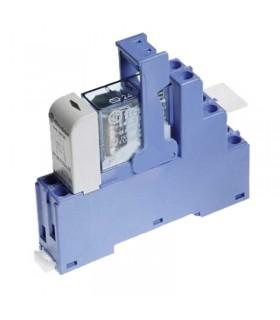 رله PLC فیندر 24V DC دو کنتاکت چنج آور 48.52.7.024