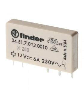 رله سرامیکی 12VDC فیندر تک کنتاکت 34.51.7.012