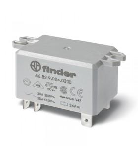 رله سرامیکی 24VDC فیندر دو کنتاکت 30 آمپر 66.82.9.024