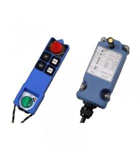 ریموت کنترل ساگا 4 کلید دو سرعت SAGA1-L6B