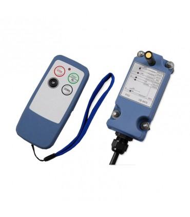 ریموت کنترل ساگا 2 کلید تک سرعت SAGA1-L4