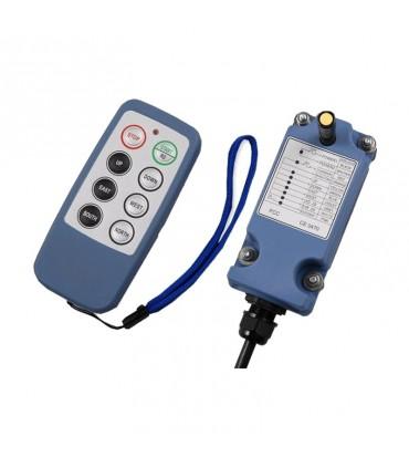 ریموت کنترل ساگا 6 کلید تک سرعت SAGA1-L8