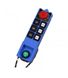 ریموت فرستنده ساگا 6 کلید تک سرعت SAGA1-L8B-TX