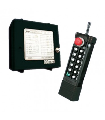 ریموت کنترل ساگا 8 کلید دو سرعت SAGA1-L12A
