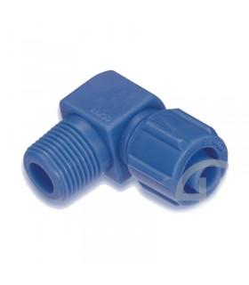 زانو مهره ای پلاستیکی سایز 1/8-8 سی دی سی (CDC)