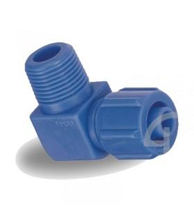 زانو مهره ای پلاستیکی سایز 1/4-12 سی دی سی (CDC)