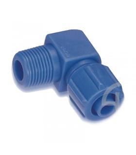 زانو مهره ای پلاستیکی سایز 1/4-8 سی دی سی (CDC)