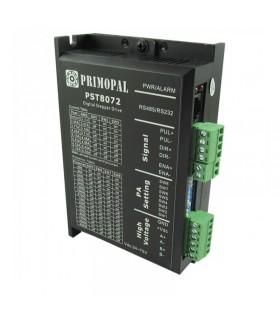 درایور استپ موتور پریموپال دو فاز، 4 سیم، جریان 7 آمپر psr8072
