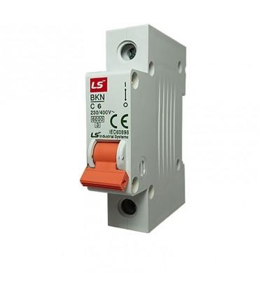 کلید مینیاتوری LS تکفاز 6 آمپر تیپ C