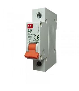 کلید مینیاتوری LS تکفاز 25 آمپر تیپ C