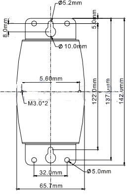 ابعاد مبدل ارتباطی IFD8500