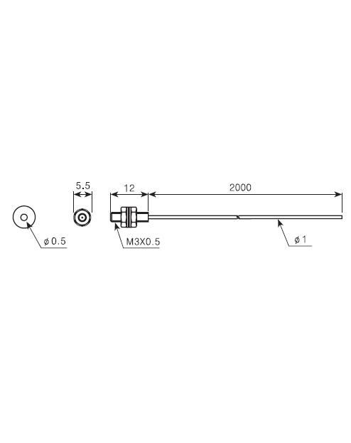 ابعادکابل فیبر نوری آتونیکس FT-320-05
